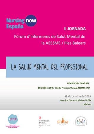 191018 II jornada salud mental Forum Infermeres SM Illes Balears AEESME